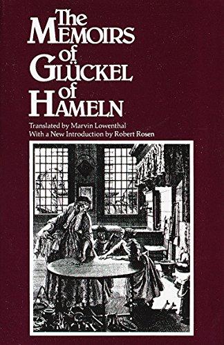Book : The Memoirs of Gluckel of Hameln - Gluckel