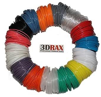 amazon com 3d filament pen refills 15 vibrant colors