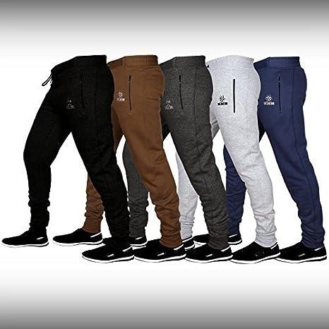 XXR Tiro - Pantalones de chándal para Hombre, Forro Polar, algodón ...