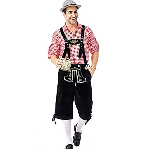 Unexceptionable-Costume Oktoberfest Beer Outfits Lederhosen ...