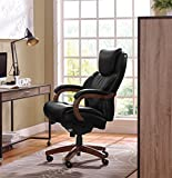 LaZBoy 45833A La-Z-Boy Delano Chair Big/Tall Traditions Executive Office, Black