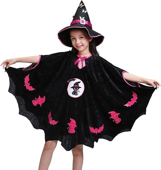 Bestlle - Disfraz de Mago de Halloween para niños, Disfraz de Mago ...