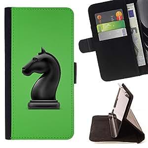 - The Horse Chess Figure/ Personalizada del estilo del dise???¡¯???¡Ào de la PU Caso de encargo del cuero del tir???¡¯????n del s - Cao - For HTC One M9