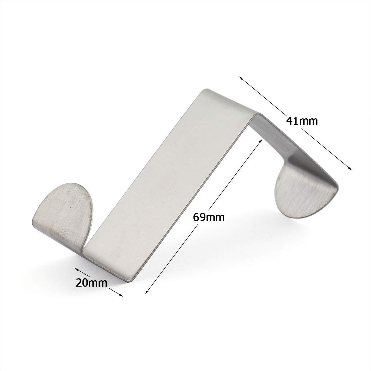 Amazon.com: JCBIZ - Ganchos de acero inoxidable sin costuras ...