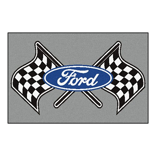 FANMATS 15850 Ford Flags Starter Rug