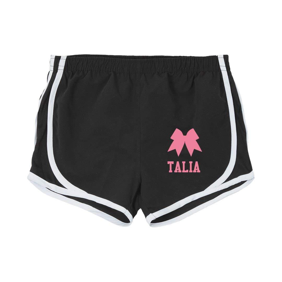 Talia Girl Cheer Practice Shorts Youth Running Shorts