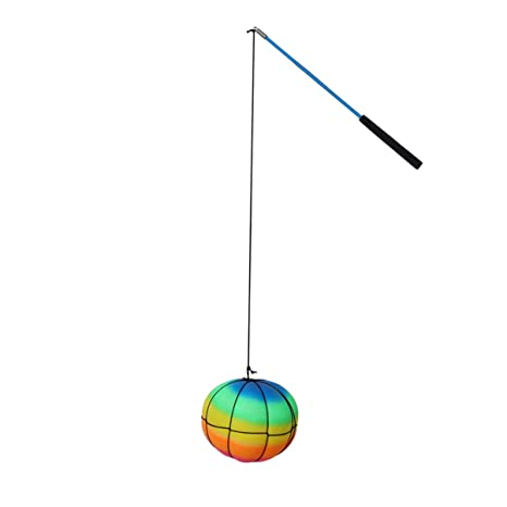 Toyvian Saltar La Pelota Saltando Juguete Swing Bolas Gran Juego ...