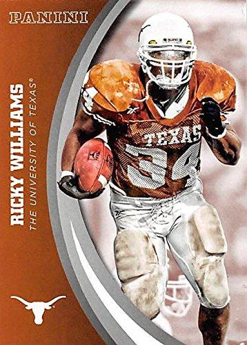 Ricky Williams football card (Texas Longhorns) 2015 Panini Team Collection #45 (Ricky Williams Football)