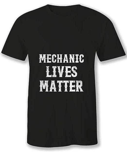 Amazon.com: HOM mejor Mechanic T Camisas Mens mecánico vidas ...