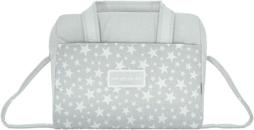 Comprar Cambrass Star - Bolso maternal tipo maleta, 32 x 39 x 17 cm color gris