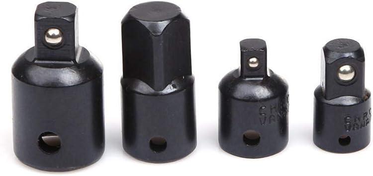 7pcs Set Impact Adapters Reducer 1//4 3//8 1//2 Drive Socket Wrench Air Ratchet Kit