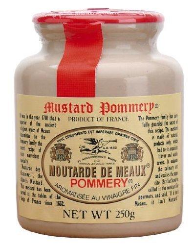Pommery Meaux Mustard Stone Jar, 8.8-Ounce