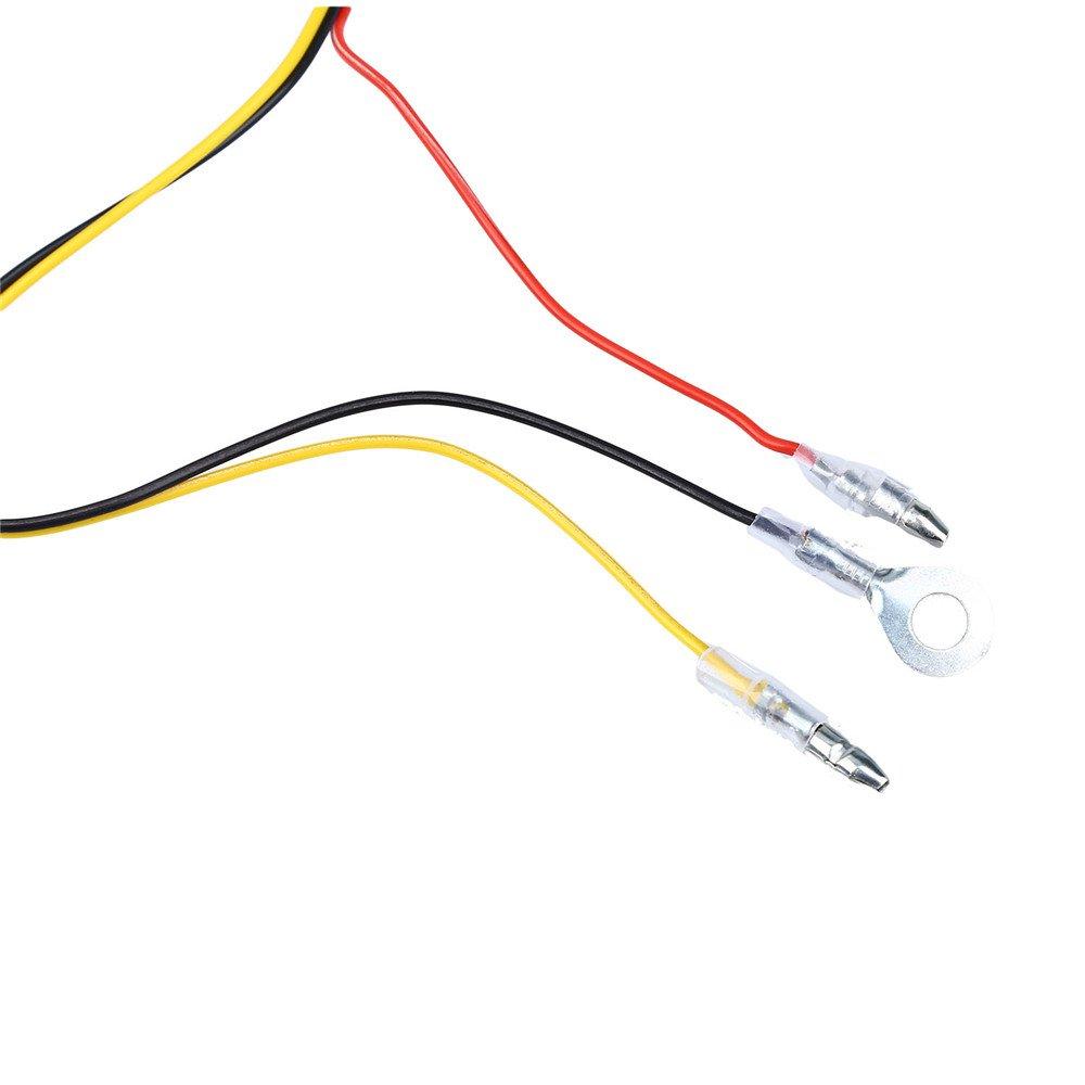 Blueskysea Universal Micro Usb Hardwire Kits 12v To 5v Box Car Audio Fuse Taps Power Adapter Cable With Compatible Dash Camera Mini 0906 B1w Electronics