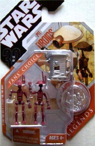 Saga Legends Red Pit Droids Hasbro Star Wars 30th Anniv