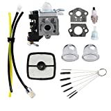 Podoy PB-250 Carburetor Blower for ECHO Parts Tune Up Kit Maintenance Air Filter Fuel PB-250LN A021003661 ES-250 Handheld Power Blower