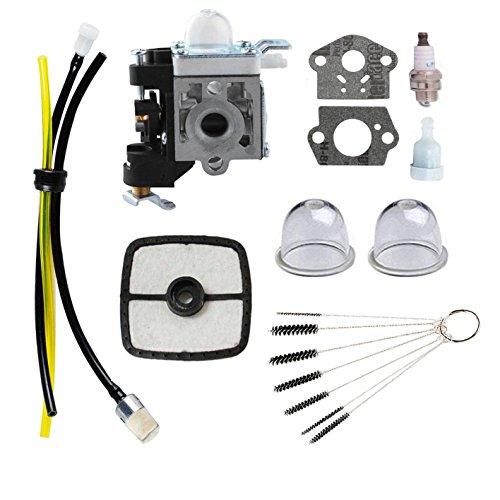 (Podoy PB-250 Carburetor Blower for ECHO Parts Tune Up Kit Maintenance Air Filter Fuel PB-250LN A021003661 ES-250 Handheld Power Blower)