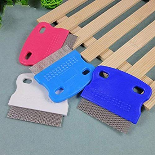 Topbeu 2PCS Pet Dog Cat Flea Combs Fine Teeth Grooming Tool by Topbeu (Image #4)