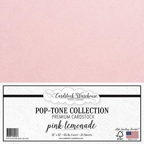 PINK LEMONADE Cardstock - 12