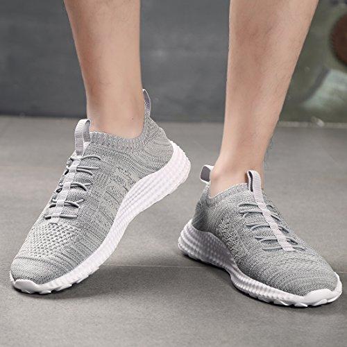 Di Calza Modo Lo Respirabile Comoda Corsa A Uomini Grey Degli Leggera Stile Atletica Da La Scarpa RwxqP0FHq
