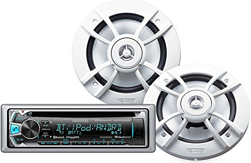 Kenwood PKG-MR362BT Marine CD Receiver with Bluetooth and 6.5