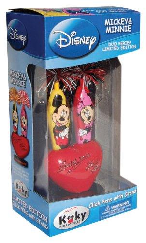 Courage Brands Mickey/Minne Duo limited edition Kooky Klicker Pens (Kooky Pens)