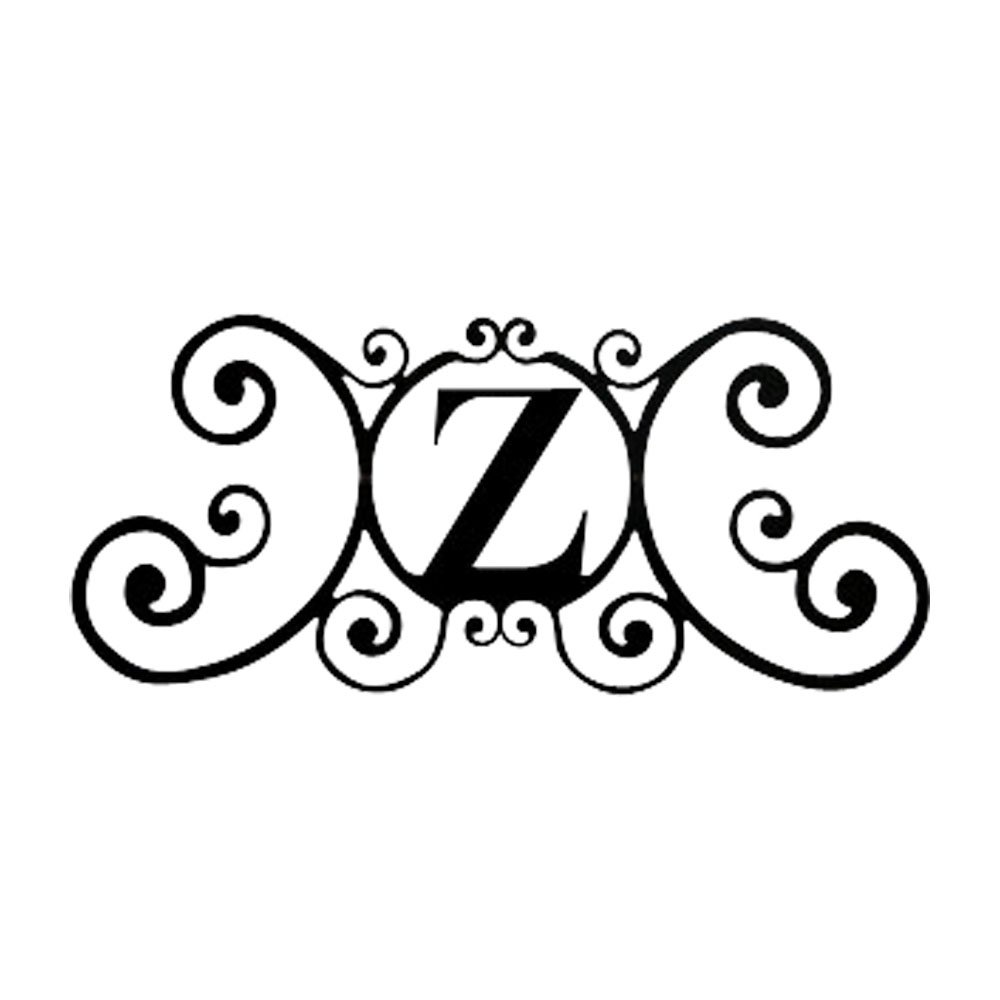 24インチ家Plaque Letter Z   B0042IPZYW