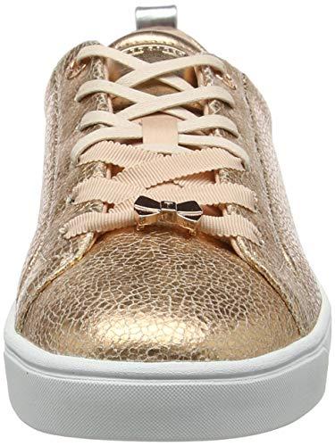 Crack Crackle Baker Para Mujer Ted Zapatillas Luoci Dorado Rg Gold rose FO4xPnv