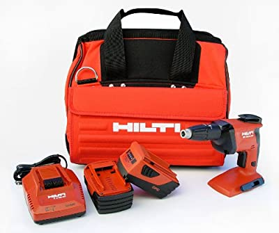 Hilti 03468772 SD4500-A18 CPC 18-volt Cordless High Speed Drywall Screwdriver with Soft Tool Bag