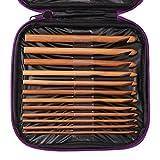 1 Set(20 pcs) Bamboo Crochet Beginner
