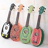HOT SEAL® Cute Pineapple Shape Handmade Carving Dapper Beginners Concerts Ukuleles Uke
