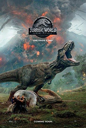 JURASSIC WORLD FALLEN KINGDOM MOVIE POSTER 2 Sided ORIGINAL Advance Version C 27x40 CHRIS PRATT ()