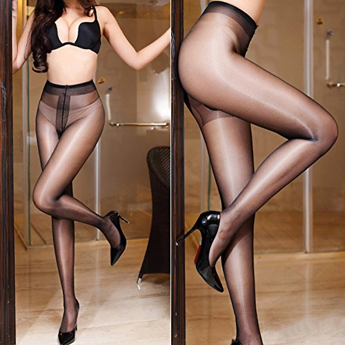 New oily Stockings,Shuohu Seamless Women T Crotch Stockings by Shuohu (Image #3)