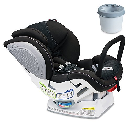 Britax Advocate ClickTight ARB Convertible Car Seat, Circa With Cupholder Set