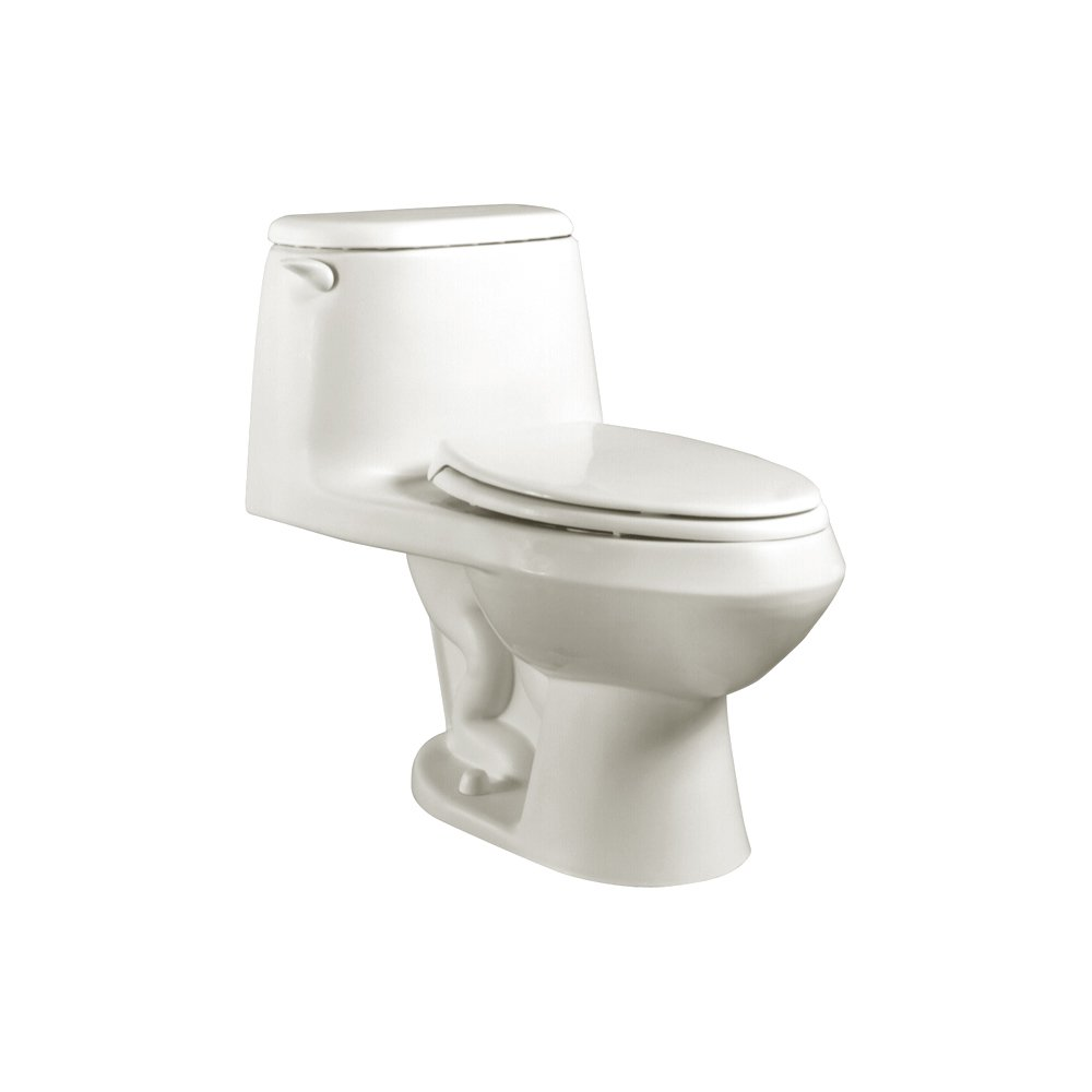 American Standard 2100.016.020 Cadet Elongated One-Piece Toilet with Seat, White