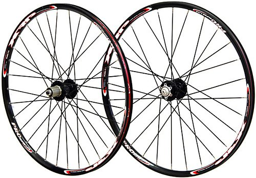Vuelta XRP Pro SL 26 inch 26in Mountain Bike Wheels Disc Brake Wheel Set Black...