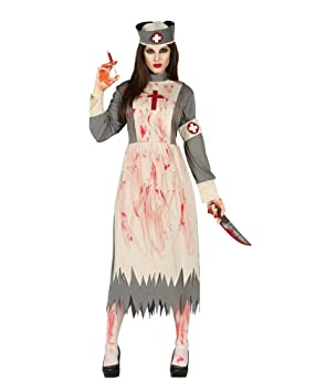 Horror-Shop Traje de la Enfermera del Hospital del Zombi L ...