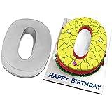 """Large Number Zero 0 Wedding Birthday Anniversary Baking Cake Pan 14"""" X 10"""""""