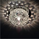 Nilight® Modern Crystal LED Ceiling Light Pendant Lamp Fixture Lighting Chandelier