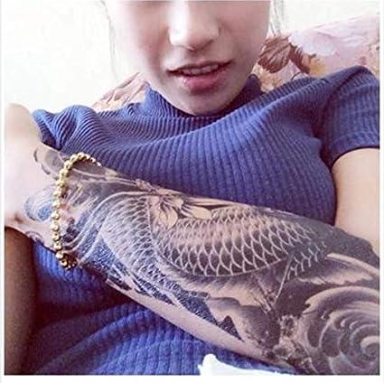 ruofengpuzi Etiqueta engomada del Tatuaje exótico Temporal a ...