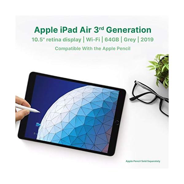 "Apple iPad Air | 10.5"" | 3rd GEN | WI-FI | 64GB | Grey | 2019 | (Renewed) 4"