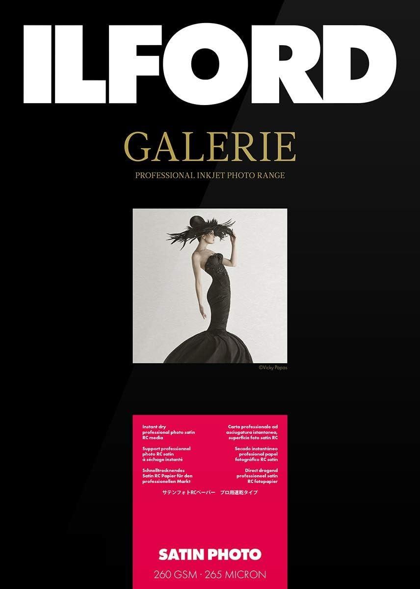 Ilford Galerie Satin Lustre 260g A3 25 hojas: Amazon.es: Oficina y papelería