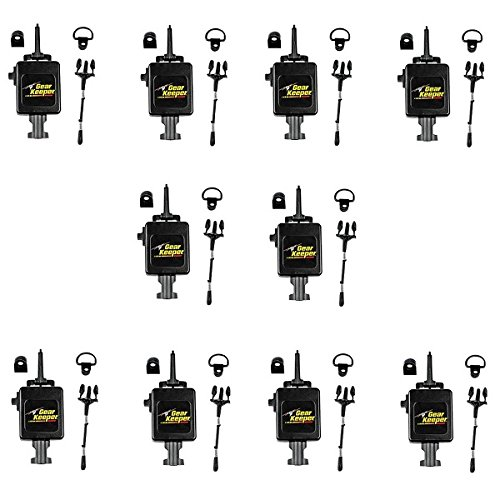 LOT OF 10 Gear Keeper RT3-4112 Heavy Duty Retractable CB Radio Microphone Hanger