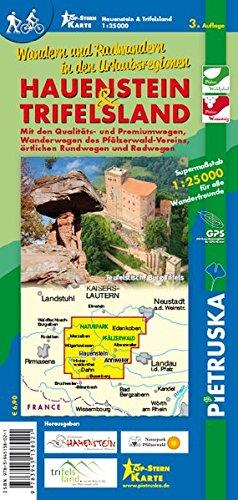Hauenstein & Trifelsland, 1:25.000, 3. Auflage: Wandern und Radwandern in den Urlaubsregionen