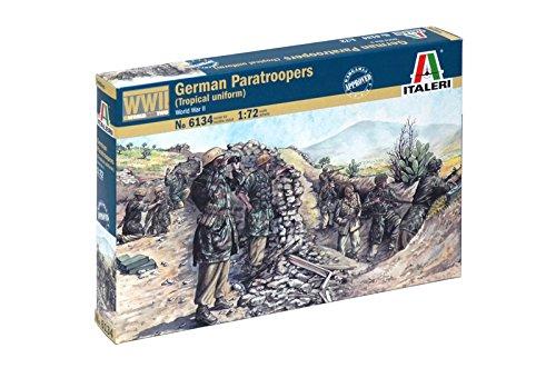 Italeri 1:72 German Paratroopers (tropical (Wwii Paratrooper Uniform)