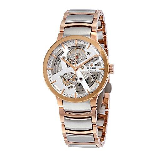 Rado-Centrix-Silver-Skeleton-Dial-Automatic-Mens-Watch-R30180113