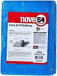 Lona De Polietileno Azul 4 M X 4 M Nove54 Nove 54