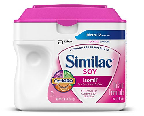 Similac Sensitive Isomil Soy Powder 23.2 Ounces (Pack of 6) (Packaging May Vary)