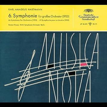 Karl Amadeus Hartmann, Ferenc Fricsay, RIAS Symphonie-Orchester Berlin -  Hartmann: Symphony, No. 6 - Amazon.com Music