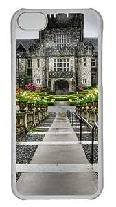 Castle Rock Polycarbonate Hard Case Cover for iPhone 5C Transparent wangjiang maoyi