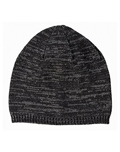 Big Accessories Two-Tone Marled Beanie OS Black/Gray